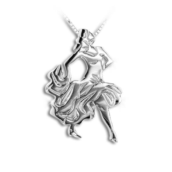 Collanina Mikelart ballerina flamenco