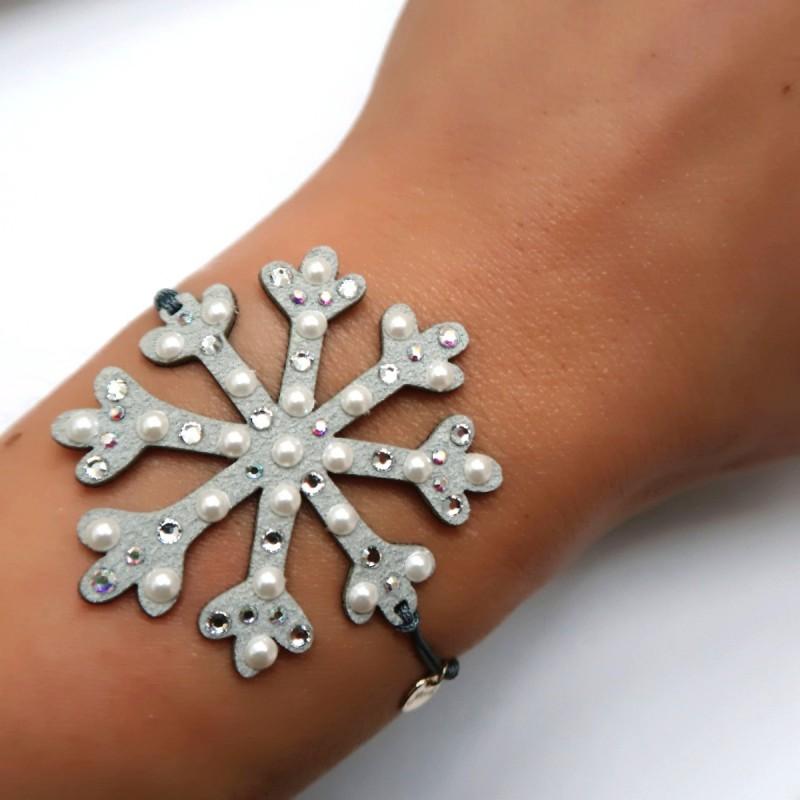 bracciale muah fiocco di neve