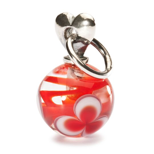 trollbeads amore a san valentino rosso