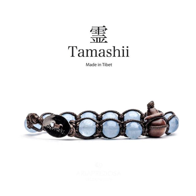 bracciale tamashii agata oceano blu