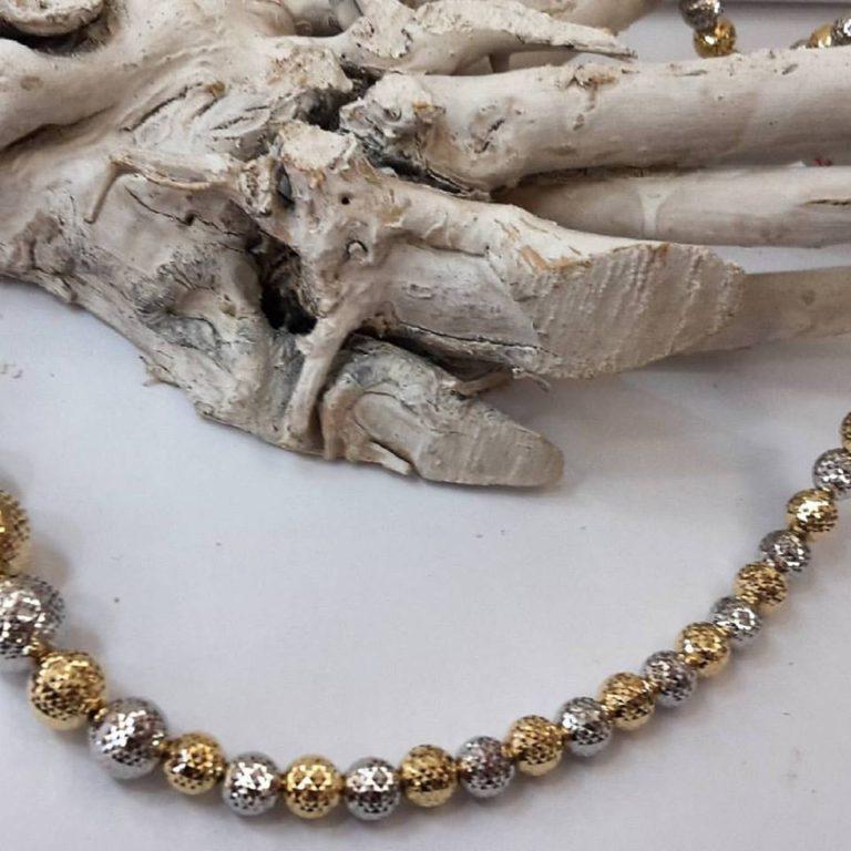 collana doriche oro giallo