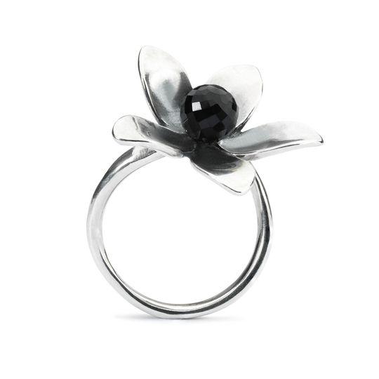 trollbeads anello fiore di venere
