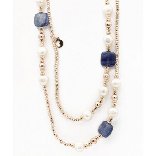 Collana-Pendente-LE-LUNE-a-due-fili-in-argento-dorato-con-agata-blue-LGNK103-3-
